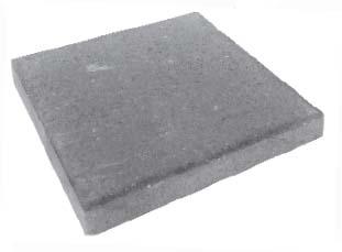 Плитка тротуарная серая «Квадрат 1К5ф» 400Х400Х50 мм