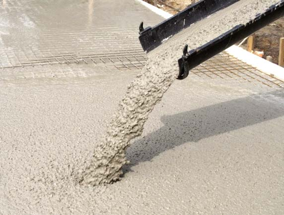 использование бетон м200