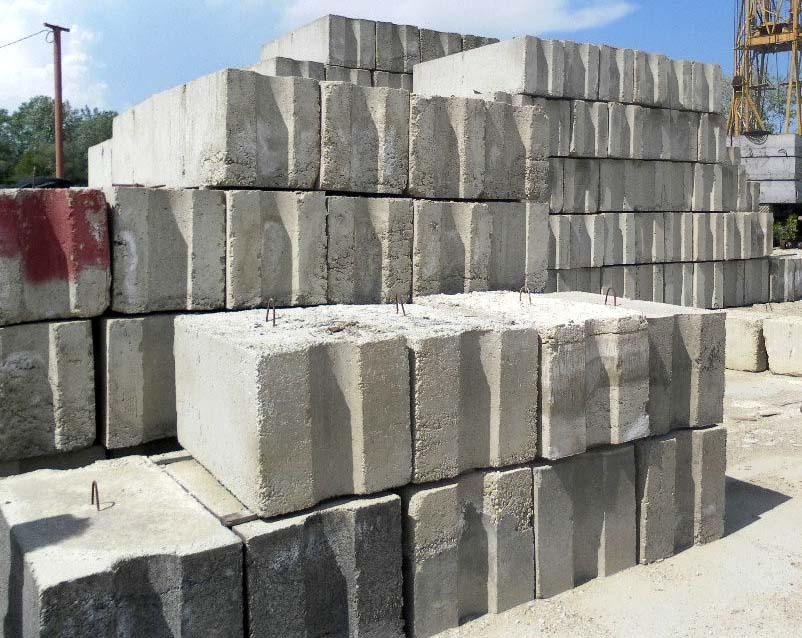 Бетонные блоки купить в Нижнем Новгороде