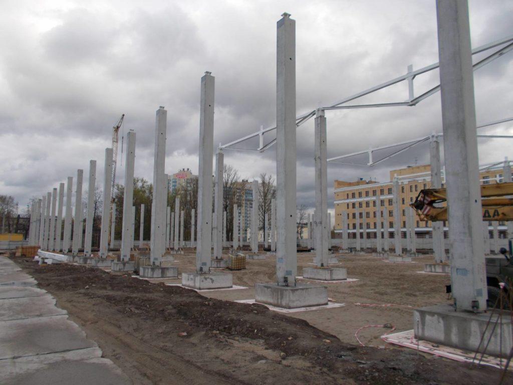 ЖБ колонны для зданий