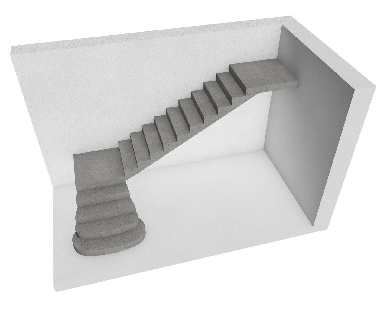 Лестницы железобетонные: марши и площадки