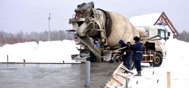 морозостойкий бетон в Нижнем Новгороде