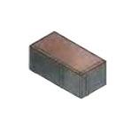 Тротуарная плитка «Брусчатка» 200х100х80 мм