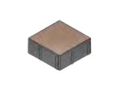 Плитка тротуарная «Квадрат» 200х200х80