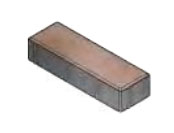 Плитка тротуарная «Паркет» 300х100х80