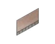 Плитка тротуарная AI 700х500х80 мм