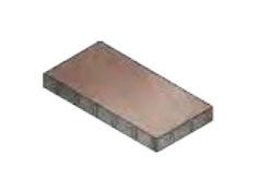 Плитка тротуарная без фаски 600х300х60 мм