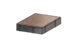 Плитка тротуарная «Ромб» 200х200х60