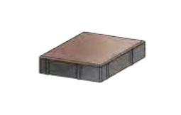 Тротуарная плитка «Ромб» 200х200х60