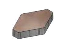 Плитка тротуарная «Зарядье» без фаски 600x400x100