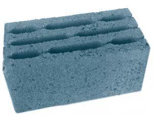 Блок стеновой восьмищелевой керамзитобетонный БСК