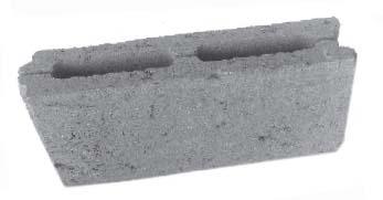 Блок перегородочный керамзитобетонный БПК-3 мм