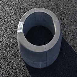 Камень дорожный радиусный (выпуклый) R-8000