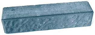 Камень декоративный оранжевый 2СК мм