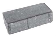 Плитка тротуарная синяя «Брусчатка 2П.4ф» 200х100х40 мм