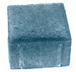 Плитка тротуарная синяя «Квадрат 4К.6ф» 100х100х60
