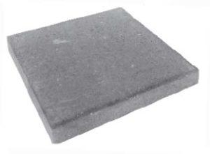 Плитка тротуарная черная «Квадрат 6К.7» 500х500х70
