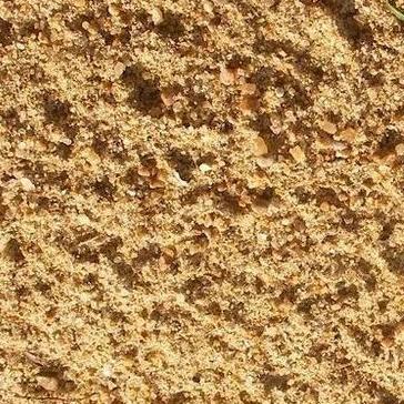 речной песок строительный - фото